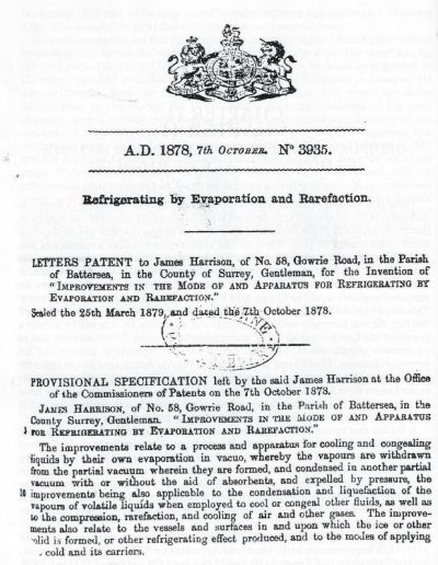 Examples of Harrisons Patents 3